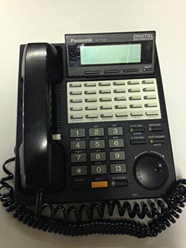 Price comparison product image Panasonic KX-T7433 Telephone Black (Certified Refurbished)
