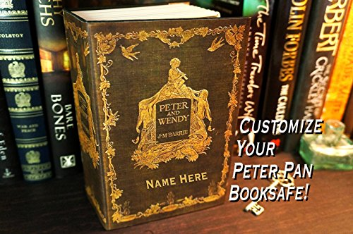 Peter Pan Book Lover Book Safe Personalized Girl Gift for Girlfriend Gift for Her Hollow Book Book Box Jewelry Storage Box Personalized Teen Girl Girls Jewelry Box Jewelry Safe Storage Box Hidden Safe