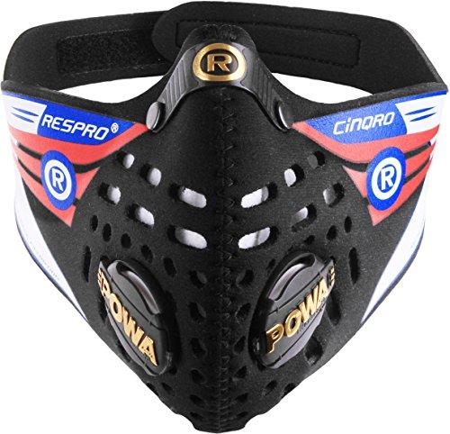 Respro Cinqro Masker Zwart – L