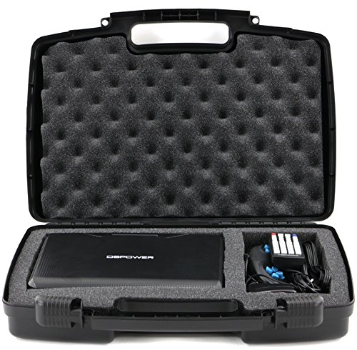 Life Made Better Storage Organizer - Compatible with DBPOWER, ieGeek, Impecca DVP916B, SYNAGY A30, NAVISKAUTO And Sylvania Portable DVD Player And Accessories - Durable Carrying Case - Black