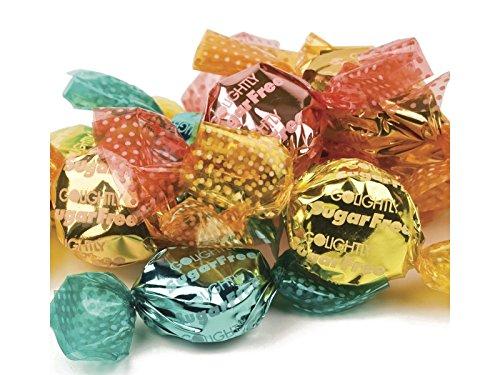 (GoLightly Sugar Free Hard Candy Wrapped Kosher Bulk - Tropical Fruit, 2Lb )