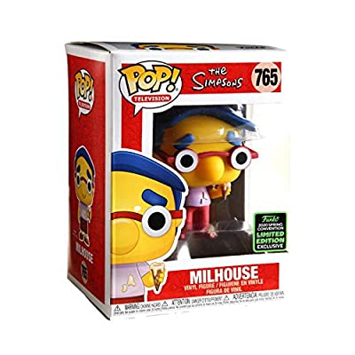 Funko POP! The Simpsons: Milhouse (ECCC) Exclusive #765: Toys & Games