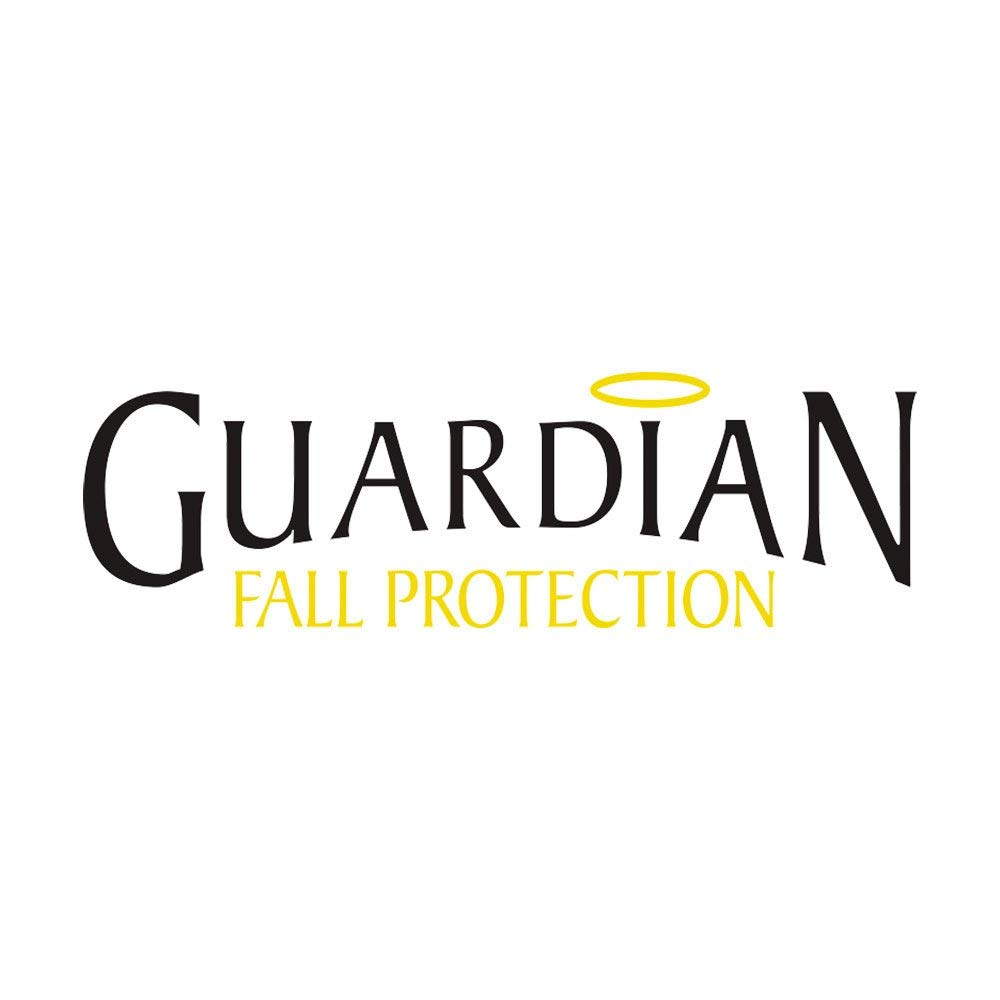 Guardian Fall Protection 01261 4-Foot Single Leg Non-Shock Absorbing Lanyard with Rebar Hook by Guardian Fall Protection
