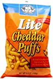 Little Bear Cheddar Puffs, Lite, 5.5 Ounce (Pack of 12)