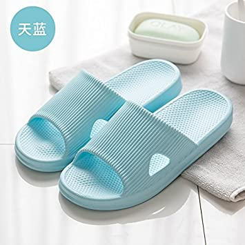 fankou Baños Tienen una Bañera Zapatillas Zapatillas Verano Hombres y Mujeres Pareja Home Stay Cool con