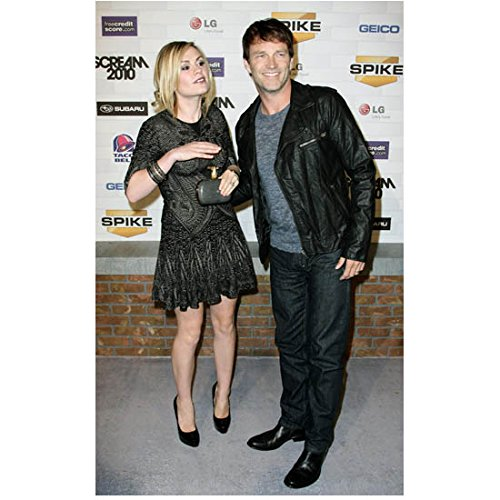 - Anna Paquin with Stephen Moyer All Smiles at Special Event 8 x 10 Inch Photo