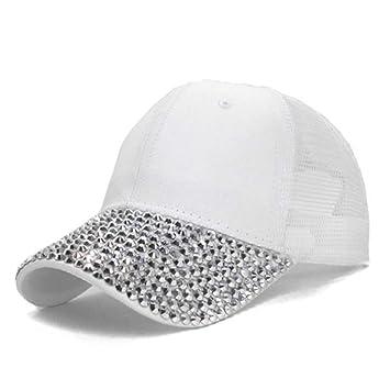 QEERT Sombrero Sombreros del Rhinestone de Las Mujeres de la Moda ...