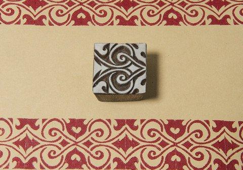 - Blockwallah Tribal Square Wooden Block Stamp