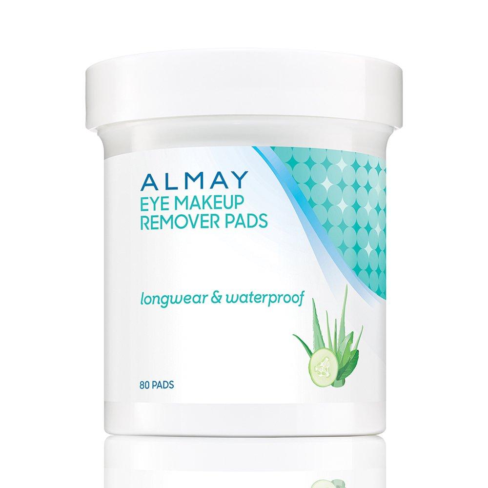Almay Oil Free Eye Makeup Remover Pads 80 Counts Ba Boo Byi Com1213