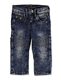 """Chams Baby Boys' """"Pleated Fade"""" Jeans"""
