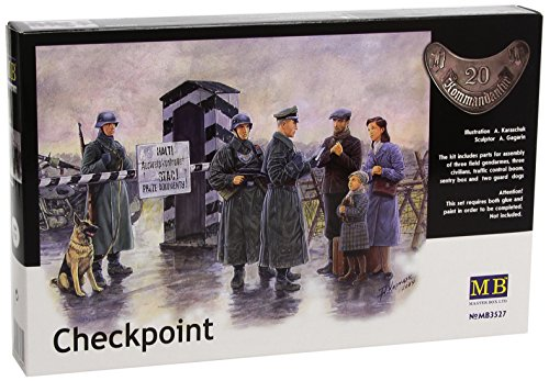 Master Box Checkpoint German Soldiers and Civilians for sale  Delivered anywhere in USA