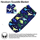 TANOFAR Newborn Swaddle Blanket with Beanie