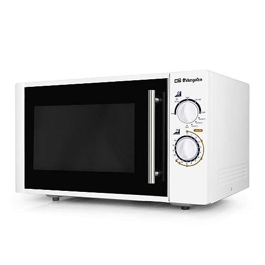 Orbegozo MIG2520 Microondas, 25 litros de Capacidad, 5 Niveles de Potencia + Grill + 3 Funciones Combi