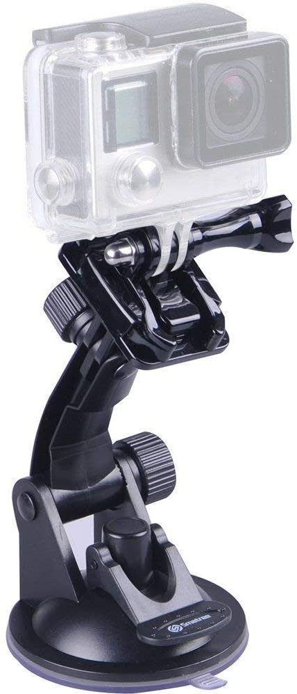 Smatree Suction Cup Mount Compatible for GoPro