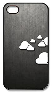 Joe A. Esquivel's Shop Rugged iPhone 4S Case,Abstract Clouds Polycarbonate PC Plastic Hard Case Cover for Apple iPhone 4S/4 Black 8377922M92724790