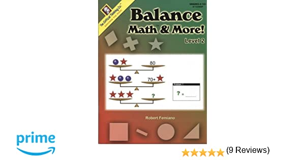 Addition Worksheets associative property of addition worksheets first grade : Critical Thinking Press Balance Math & More Level 2: Robert ...
