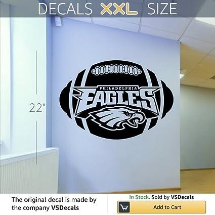 Philadelphia eagles logo nfl wall art sticker decal 002
