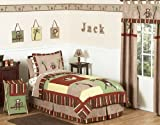Monkey Kids Bedding 4pc Boys Twin Set