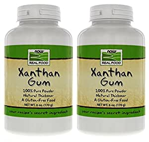 NOW Foods Xanthan Gum, 6 Ounce Bottle (Pack of 2)