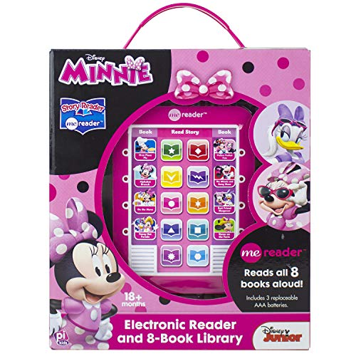 Minnie Mouse - Me Reader Electronic Reader and 8-Book Library - PI Kids