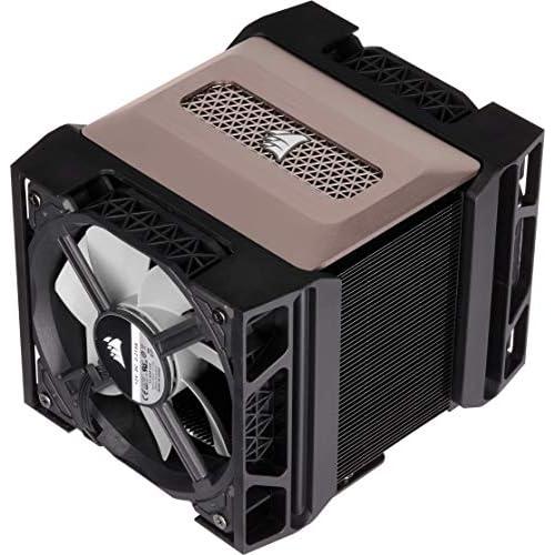 chollos oferta descuentos barato Corsair A500 Refrigerador de CPU de Doble Ventilador de Rendimiento Refrigera hasta 250W TDP Sistema Intuitivo de Montaje de deslizamiento de Ventilador Ventiladores Corsair ML120 Color Negro