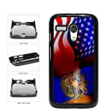 Armenia and USA Mixed Flag Plastic Phone Case Back Cover Motorola Moto G incl...