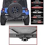 GSI Jeep Wrangler JK Rear Bumper with Swing Tire Carrier