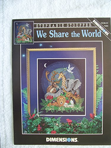 We Share the World Counted Cross Stitch Chart
