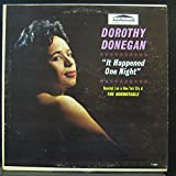 DOROTHY DONEGAN IT HAPPENED ONE NIGHT vinyl record