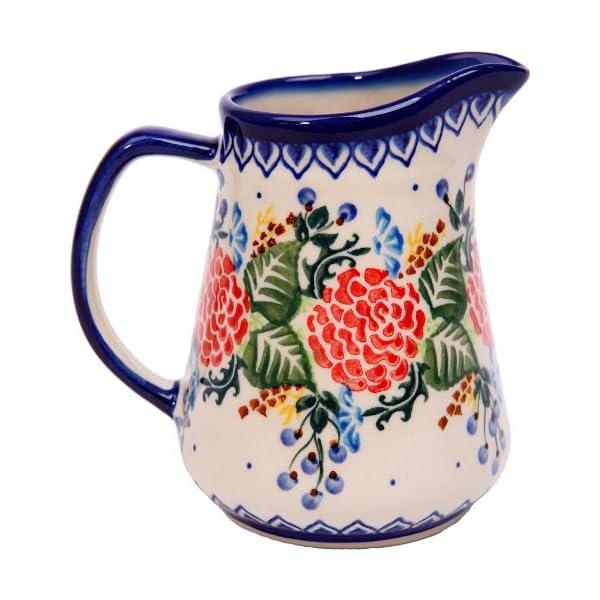 Polish Pottery Ceramika Boleslawiec 0205/280 Jacek 1 Pitcher, 1-Cup