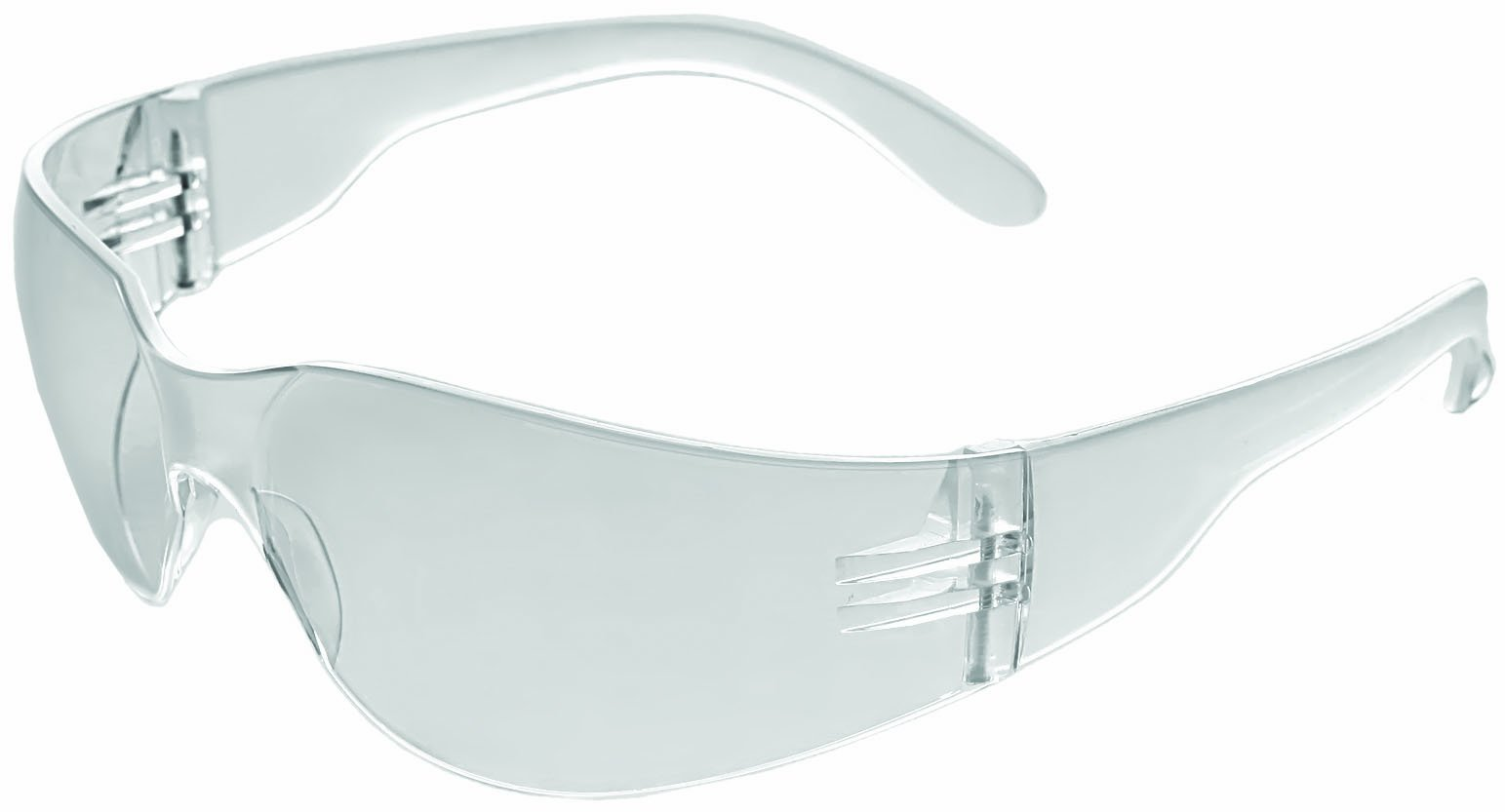 ERB 17987 iProtect Readers Safety Glasses with +1.0 Bifocal Power, Clear Frame with Clear Lens