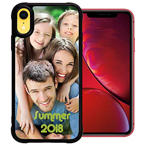 PixCase XR (6.1 inch) – Picture Frame Case – Compatible with Apple iPhone XR – DIY – Insert Your Own Photos or Create Custom Designs Online - Change Anytime – ()
