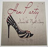 White Cotton Cards WB24 Hen Party Dance the Night Away by WHITE COTTON CARDS