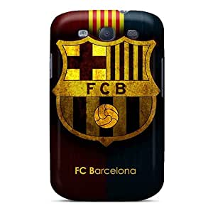 Protector Hard Phone Cover For Samsung Galaxy S3 (FSU20138boPp) Provide Private Custom Nice Fc Barcelona Image