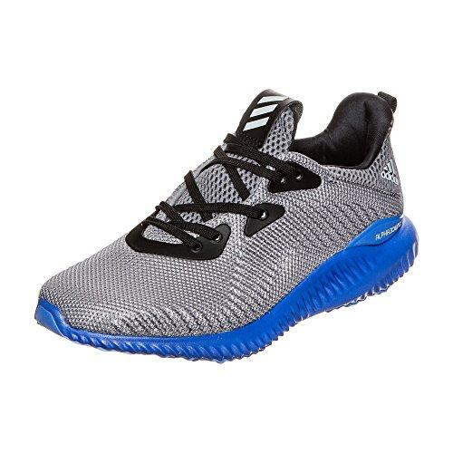 adidas alphabounce j - Zapatillas deportivaspara niños, Gris - (GRIS/ONICLA/AZUL), 4