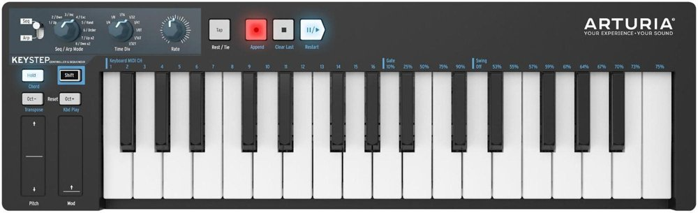Arturia KeyStep BE Black Edition Controller Usb Step Sequencer: Amazon.es: Electrónica