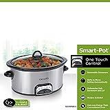 Crock-Pot SCCPVP600-S Smart-Pot 6-Quart Slow