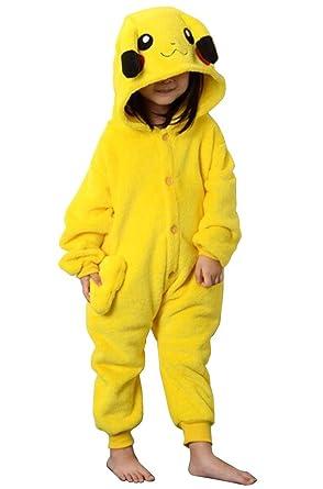Bangniweigou® - Disfraz de pikachu unisex de Japón para niños ...