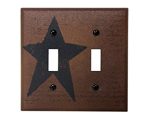 Star Double Switch Plate Cover - 4½