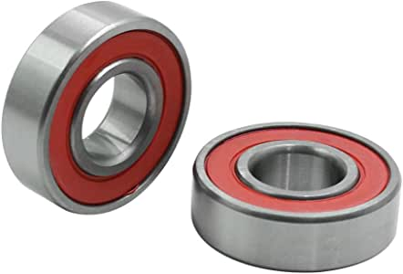 6003-2RS Bearings — 17 x 35 x 10mm — Radial Deep Groove Ball Bearing — 2pcs