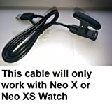 USB Charging Cable for BUSHNELL NEO X or XS Watch GPS Rangefinder