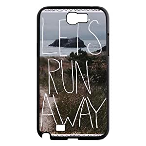 Let's Run Away High Qulity Customized Cell Phone Samsung Galaxy Note3 , Let's Run Away Samsung Galaxy Note3 Case