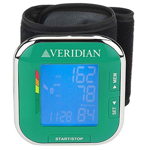 VERIDIAN 01-508 WRIST BLOOD PRESSURE MONITOR - FDA CERTIFIED