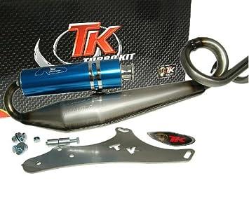Turbo Kit Gmax 4T Tubo de escape deportivo para yiying Yy50Qt de 2, YY50QT de 21 (a), YY50QT de 22: Amazon.es: Coche y moto
