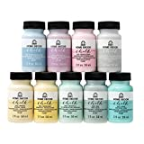 FolkArt PROMOFAHDC2 FA HD Chalk 9PC Set 2 OZ, Top Pastels