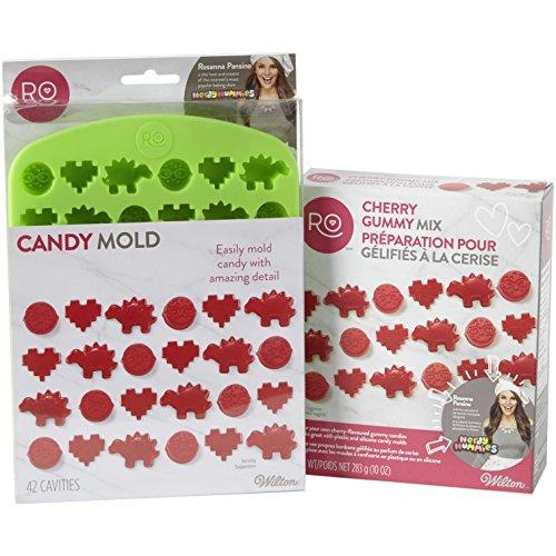 Rosanna Pansino Nerdy Nummies Cherry Gummy Mix Set by (Mix Gummy)
