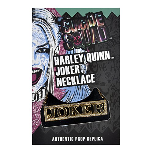 Diamente Collection (Noble Harley Quinn Joker - Suicide Squad Necklace Collection Authentic Prop Replica)