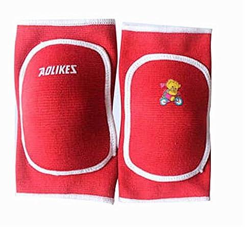 Sports Kneepads Kids' Knee Braces Sleeve Knee Support, Red, Random Pattern (Kindle Audio Ap)