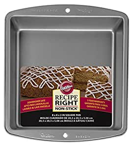 Wilton Recipe Right 8 Inch Square Pan
