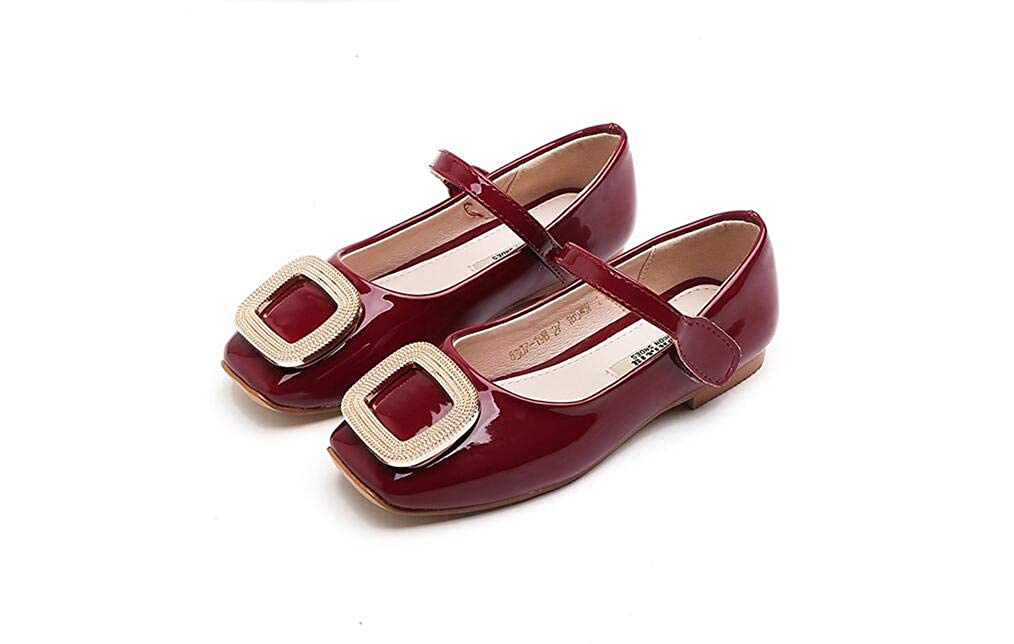 Girls Mary Jane Shoes Cute Flat Shoes Dress Shoes Casual Shoes